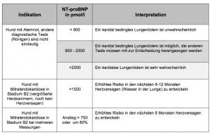 Biomarker NT-proBNP